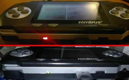 Фотография работающего светодиодного индикатора