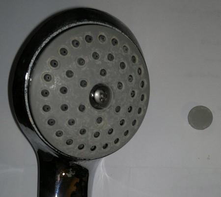 Фотография деформированной резинки рассекателя